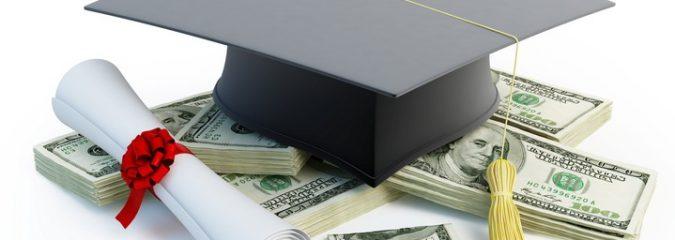 College diploma, money