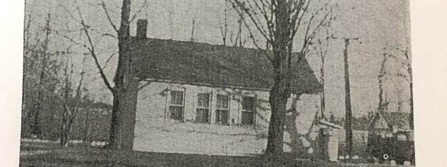 Birchon School House in 1965