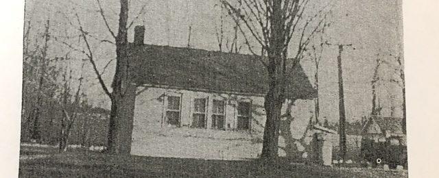 Birchon School House in 1965